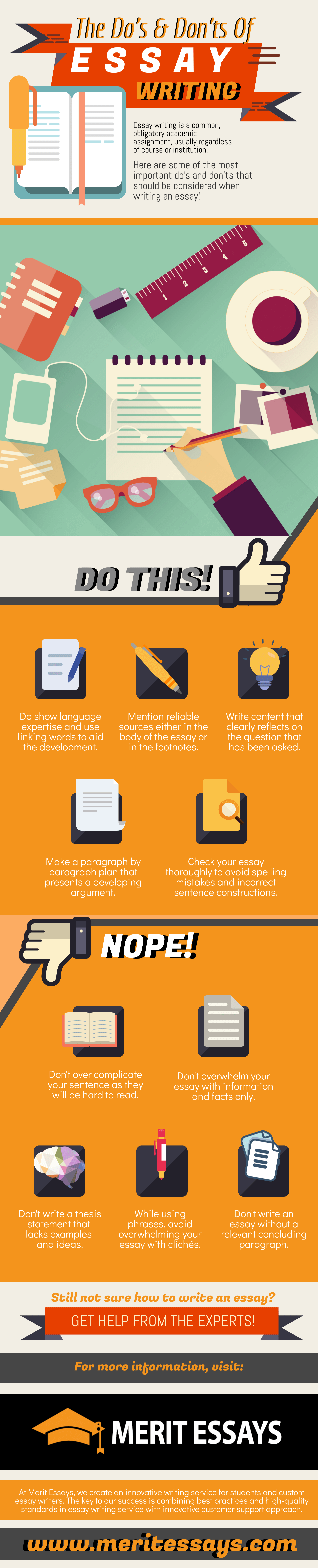 The Do's and Don'ts of Essay Writing